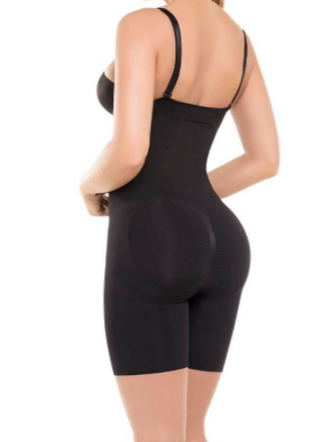Seamless Strapless Knee Body Shaper