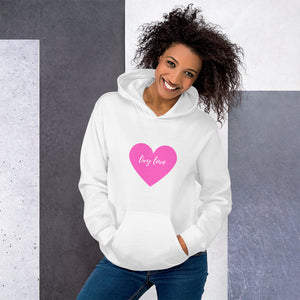 amazing price purchase cheap competitive price Livy Love Extra Comfy Pink Heart Hoodie – livylove