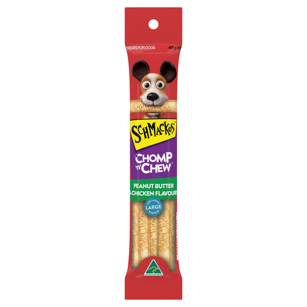 CHOMP 'N' CHEW™ Peanut Butter & Chicken Flavour