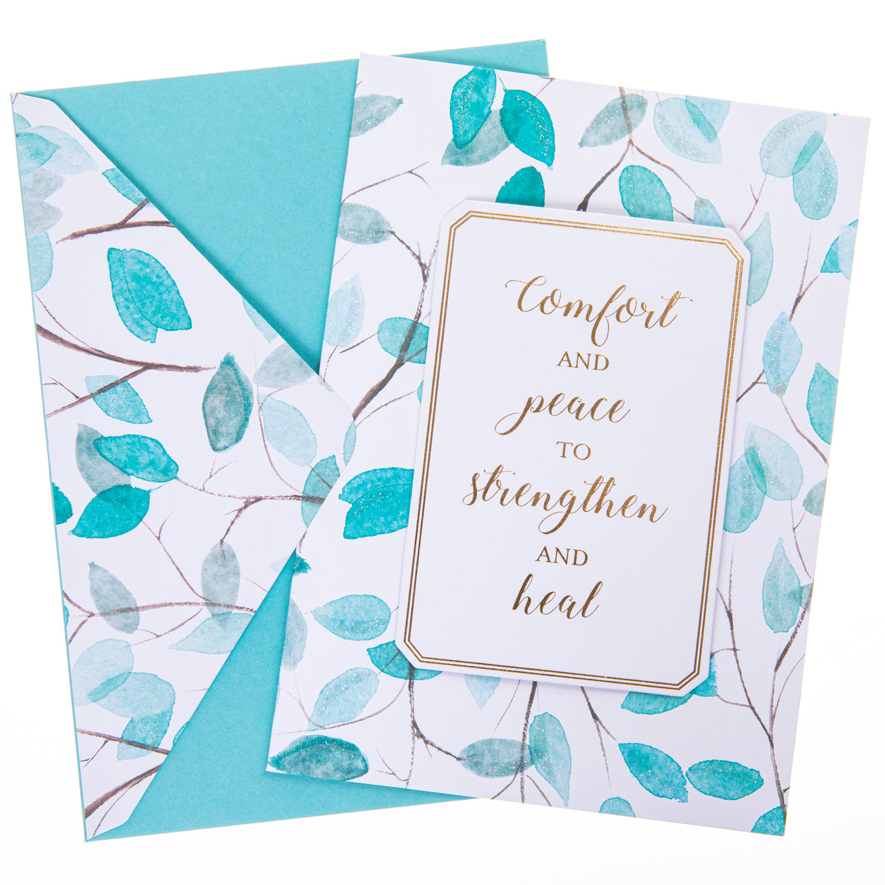 Comfort and Peace Sympathy Handmade Card