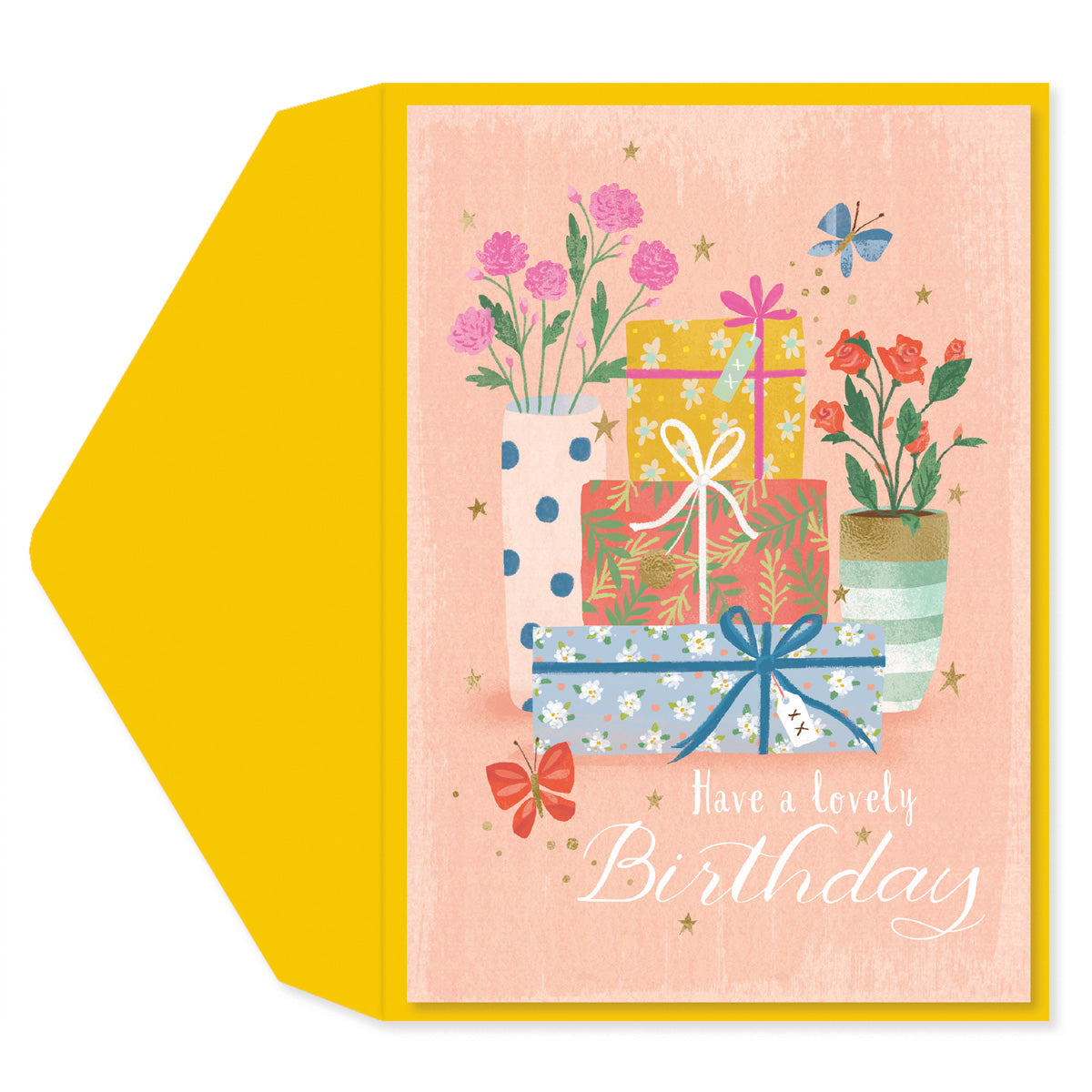 Have a lovely birthday Greeting Card