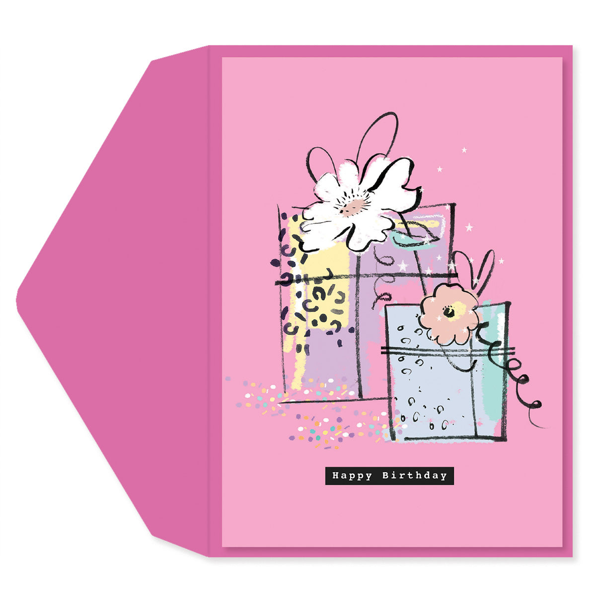 Happy Birthday Gifts Greeting Card