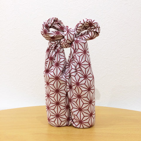Wrapping two bottles