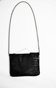 Disco Bag Crossbody Black Maxi