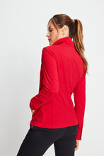 Load image into Gallery viewer, Justine Side-Stripe Racer Jacket