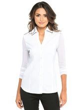 Load image into Gallery viewer, Beth Luxe Button Front Shirt