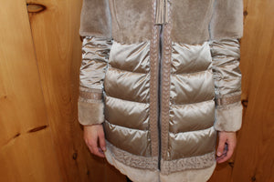 Women's Jacket  Attribute: Nocciola   Made in Italy