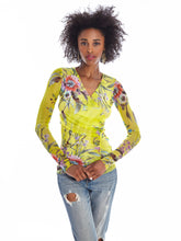 Load image into Gallery viewer, Cedro printed long sleeve top