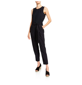 "Anatomie ""Amelia"" jumpsuit in lightweight, super-stretch, wrinkle-free fabric, with UPF 50+ sun protection; and quick drying"