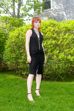 Load image into Gallery viewer, Black Linen Dress