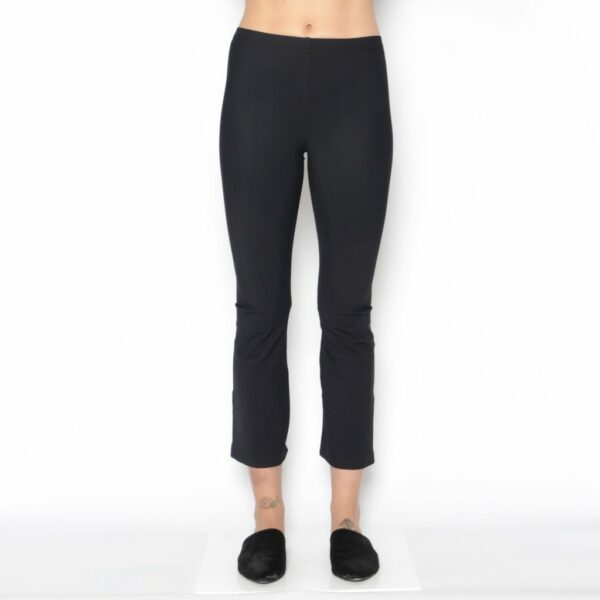 Our bestselling tech stretch legging with a cropped kick flare. Stay ahead of the trends with this flattering cut.