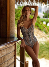 Load image into Gallery viewer, Cyprus Cheetah Swimsuit