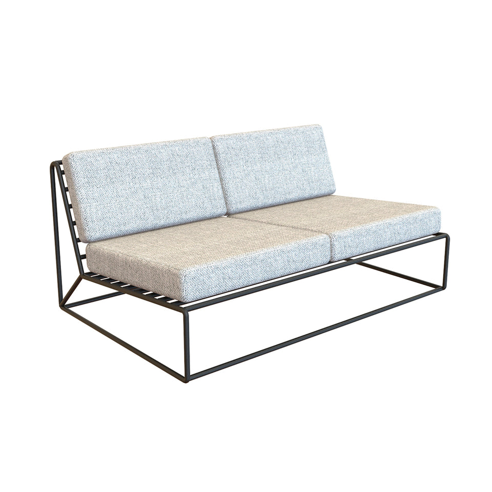 Sofá Loveseat doble