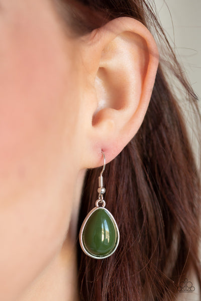 Shop Til You TEARDROP - Green