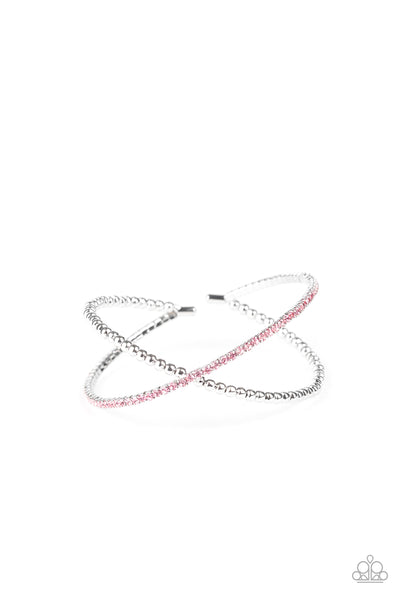 Chicly Crisscrossed - Pink