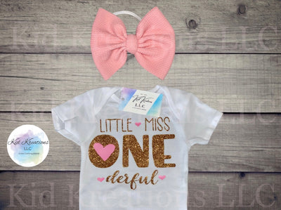 Little Miss One-derful Set - Kid Kreations LLC