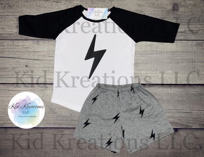 Lightning Bolt Set - Kid Kreations LLC