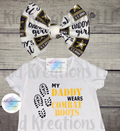 Combat Boots Set - Kid Kreations LLC