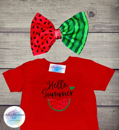 Hello Summer Set - Kid Kreations LLC