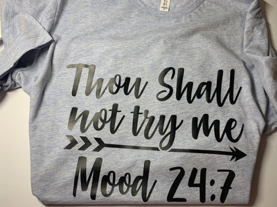 Thou Shall Not Try Me T-Shirt - Kid Kreations LLC
