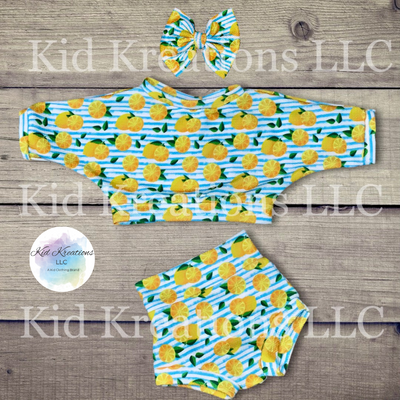 Lemons Galore Set - Kid Kreations LLC