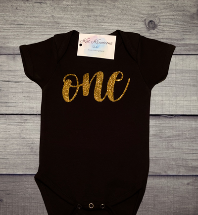 """One"" Onesie - Kid Kreations LLC"