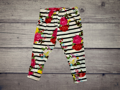 Floral Leggings - Kid Kreations LLC