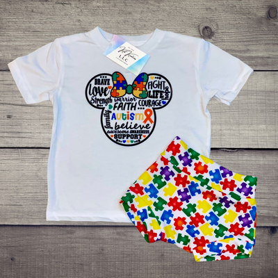 Autism Awareness Set - Kid Kreations LLC