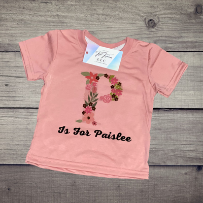 Alphabet Alliteration T-Shirt (Sublimation) - Kid Kreations LLC