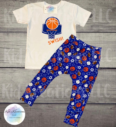 Swish Harems Set - Kid Kreations LLC