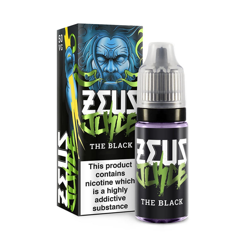 Zeus Juice 50/50 The Black 10ml (4686845280322)