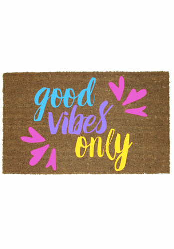 GOOD VIBES ONLY MAT