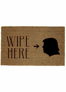 WIPE HERE MAT