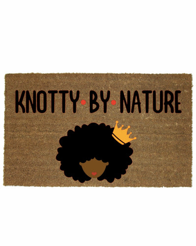 KNOTTY BY NATURE MAT