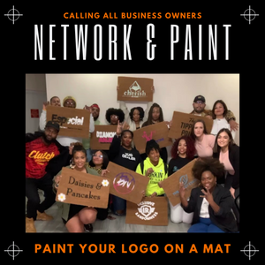 Network & Paint: Logo Mat Painting Party
