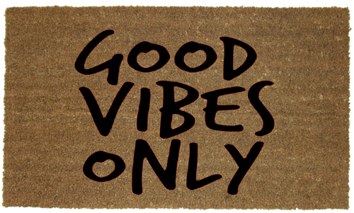 GOOD VIBES MAT
