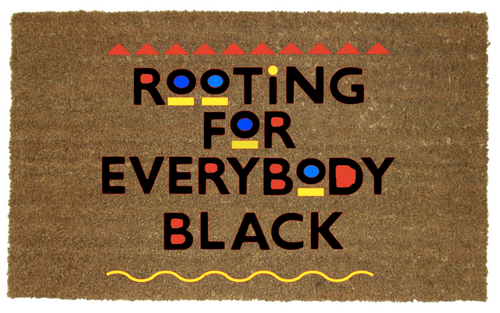 ROOTING FOR BLACKS MAT