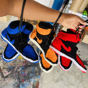 ROYAL 1 KNITTED HOUSE SNEAKERS (blue/black only)