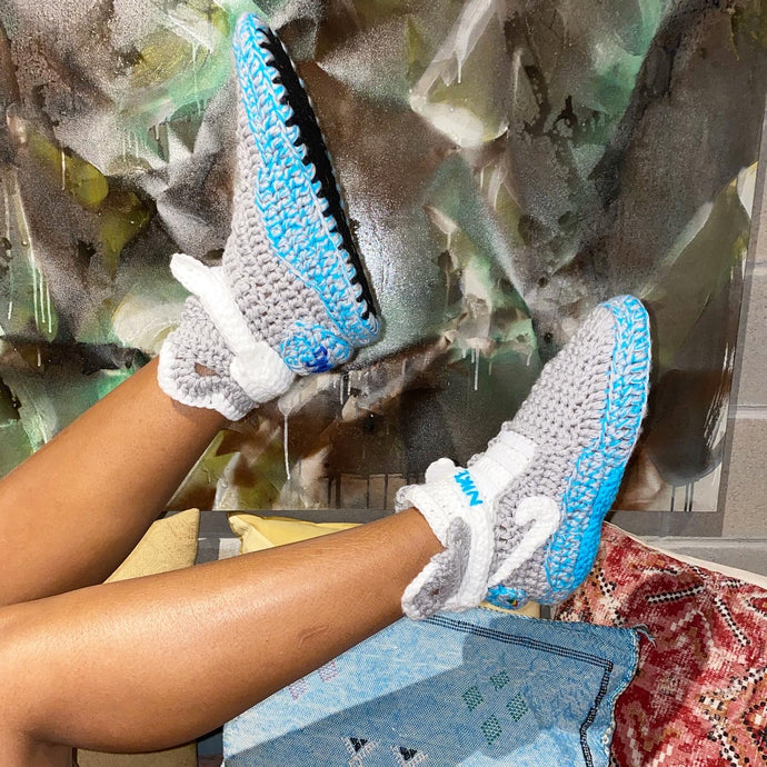 MAG KNITTED HOUSE SNEAKERS
