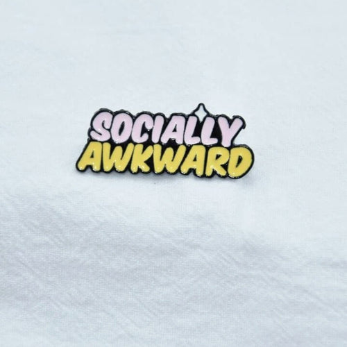 Socially Awkward Pin