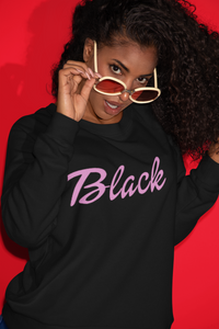 BLACK BARBIE SWEATSHIRT