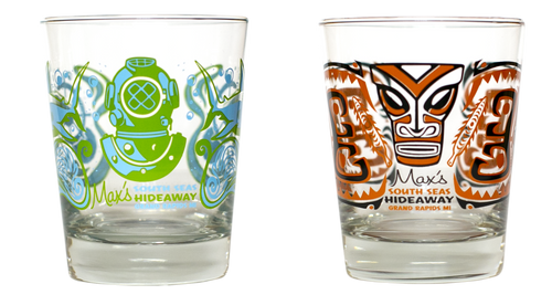 Max's Mai Tai Glasses - Set of Two (2)