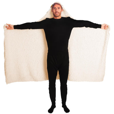 Unisex Big Coffee Hooded Blanket - ThePopCoffee