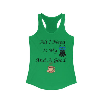 Women's All I Need Is My Dog Tank Top - ThePopCoffee