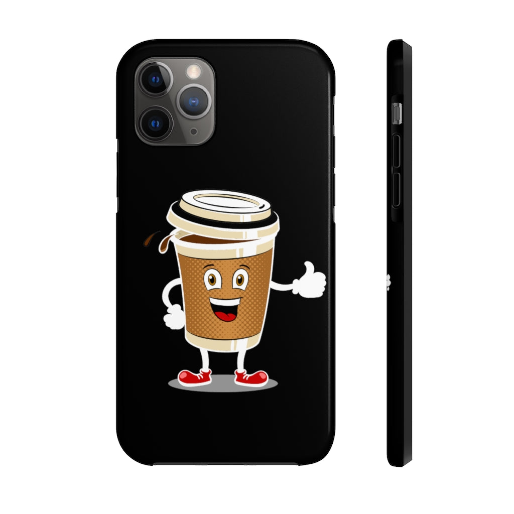 Funny Coffee Case Mate Tough Phone Cases - ThePopCoffee