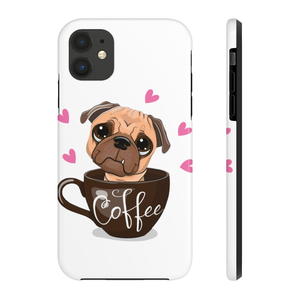 Dog's Coffee Case Mate Tough Phone Cases - ThePopCoffee