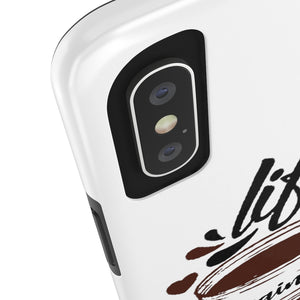 Life Begins After Coffee Case Mate Tough Phone Cases - ThePopCoffee