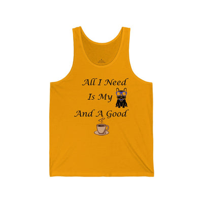All I Need Tank Top for Men - ThePopCoffee
