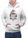 Unisex Life Begins After Coffee Hooded Coffee Sweatshirt - ThePopCoffee