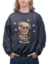 Coffee Sweatshirt Dog's Coffee For Men - ThePopCoffee